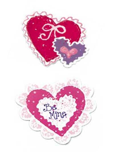 Kid's Craft-Valentine Magnets photo