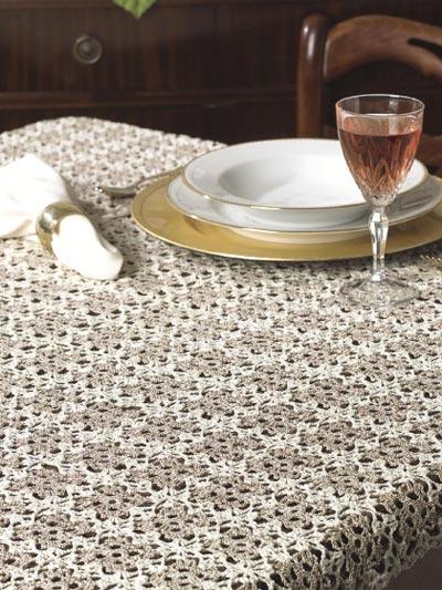 Irish Cream Tablecloth photo
