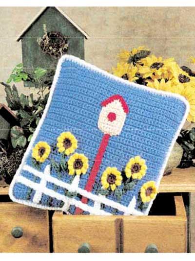 Sunflower Pillow photo
