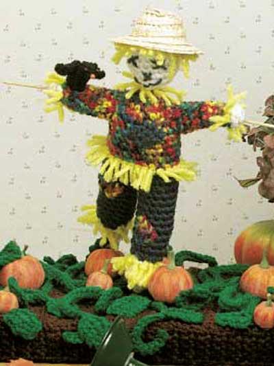 Scarecrow Centerpiece photo