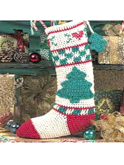 Christmas Tree Stocking photo