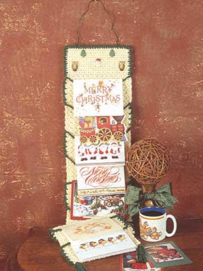 Christmas Card Holder photo