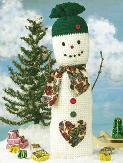 Folk Art Snowman photo