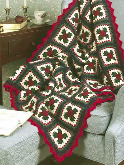 Christmas Granny Afghan photo