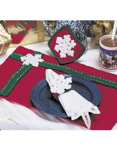 Christmas Place Mat Set photo