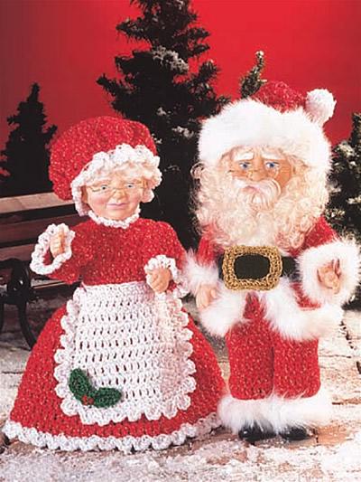 Santa and Mrs. Santa photo