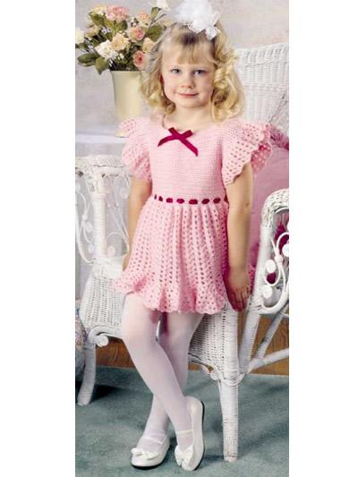 Little Girl's Shell Dress photo