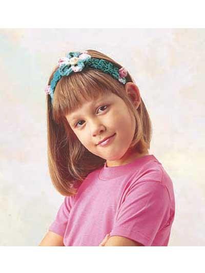 Flowered Headband photo
