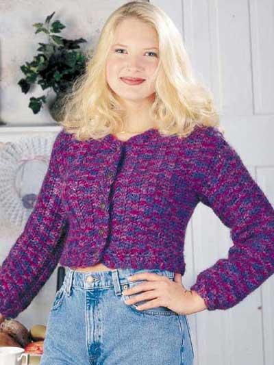 Jewel Tone Sweater photo
