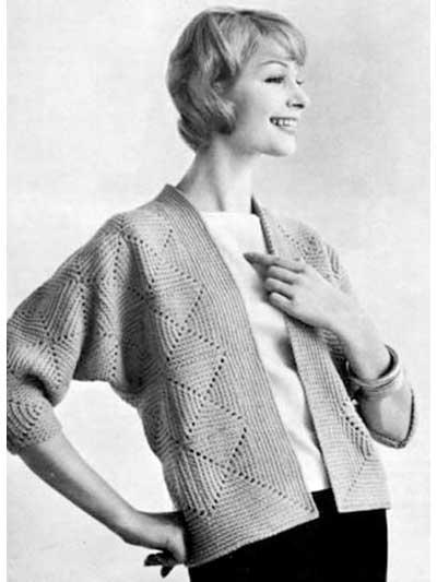Crocheted Cardigan photo